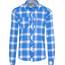 Bergans Jondal - Camisas de manga larga Hombre - azul/blanco